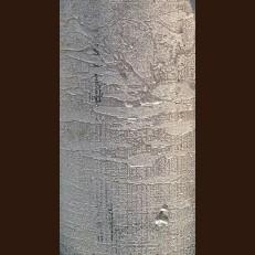 Свічка Рустік Циліндр срібна (5,5 х 13 см, 26 год)