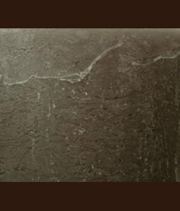Свічка Рустік Циліндр сірий мокрий асфальт (7 х 10, 35 год)