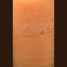 Свічка Рустік Квадрат темний оранжевий (7 х 7 х 7,5 см, 30 год)