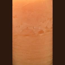 Свечка РУСТИК Шар (D-8 х 7,5 см, 45 час) темный оранжевый