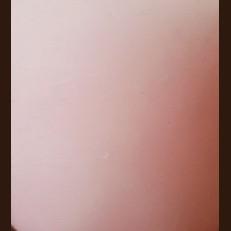 Свечка Рустик Цилиндр розовый (10,5 х 15, 100 час)