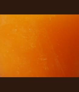 Свічка Рустік Шар помаранчевий (D-10 х 8,5 см, 70 год)