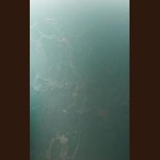 Свічка Рустік Шар бірюза світла (D-10 х 8,5 см, 70 год)