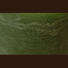 Свічка Рустік Шар темний зелений