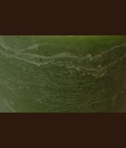 Свічка Рустік Квадрат темний зелений