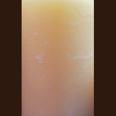 Candle Rustic Square apricot (9,5 х 9,5 х 20, 110 hours)