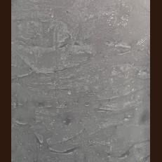 Свічка Рустік Циліндр тепло-сірий (10,5 х 15, 100 год)
