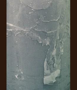Свічка Рустік Шар (D-8 х 7,5 см, 45 год) сірий
