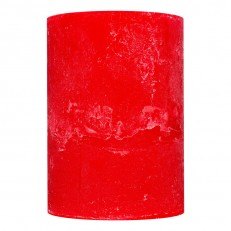 Candel Rustic Cylinder red ( 8,5 х 12, 85 hours ) / 9