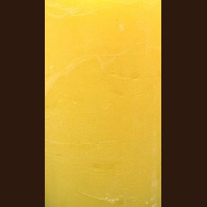 Свічка Рустік Циліндр лимонний жовтий (7 х 7,5 см, 25 год)