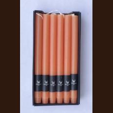 Свечи хозяйственные абрикос - набор 12 штук