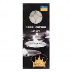 Candel tea light white 10 шт