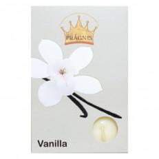 Candel tea light AROMA ( 8 х 12 ) \ 6 vanilla