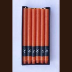 Свечи хозяйственные терракот (2,2 х 27 см) - набор 12 штук