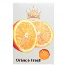 Candel tea light AROMA ( 8 х 12 ) \ 6 orange fresh