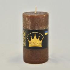 Свеча Рустик Цилиндр шоколад ( 55 х 10, 20 час ) 20