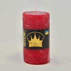Свеча Рустик Цилиндр вишневый ( 55 х 10, 20 час ) 20