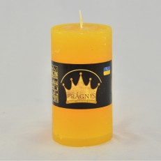Свеча Рустик Цилиндр желтый ( 55 х 10, 20 час ) 20
