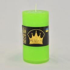 Свеча Рустик Цилиндр зеленый ( 55 х 10, 20 час ) 20