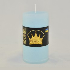 Свічка Рустік Циліндр блакитний ( 5,5 х 10, 20 год ) 20