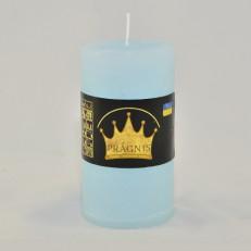 Свеча Рустик Цилиндр голубой ( 55 х 10, 20 час ) 20