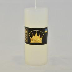 Свічка Рустік Циліндр білий ( 5,5 х 13, 26 год ) 20