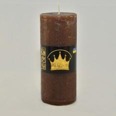 Свеча Рустик Цилиндр шоколад ( 55 х 13, 26 час ) 20