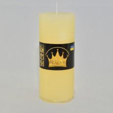 Свічка Рустік Циліндр бежевий ( 5,5 х 13, 26 год ) 20