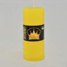 Свічка Рустік Циліндр жовтий ( 5,5 х 13, 26 год ) 20
