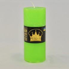 Свеча Рустик Цилиндр зеленый ( 55 х 13, 26 час ) 20