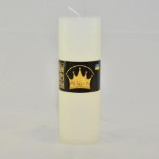 Свічка Рустік Циліндр білий ( 5,5 х 16, 32 год ) 20