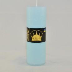 Свічка Рустік Циліндр блакитний ( 5,5 х 16, 32 год ) 20