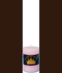 Свічка Рустік Циліндр рожевий ( 7 х 10 , 35 год ) / 12