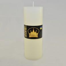 Свеча Рустик Цилиндр белый ( 7 х 20, 70 час ) 9