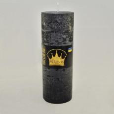 Свічка Рустік Циліндр чорний ( 7 х 20, 70 год ) 9