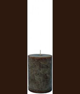 Свеча Рустик Цилиндр шоколад ( 8,5 х 12, 85 час ) / 9