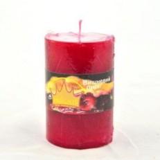 Свічка Рустік Циліндр (55х8 см, 20 год) АРОМА вишневий пиріг / 20