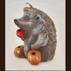 Ежик с яблоками (6х8 см)