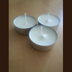 Candel Jambo white (big tea light) (о57х23 mm)
