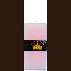 Candel Rustic Square pink ( 9,5*9,5 х 20 , 110 hours ) / 6