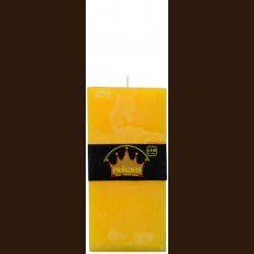 Candel Rustic Square yellow ( 9,5*9,5 х 20 , 110 hours ) / 6