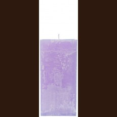 Candel Rustic Square lilac (9,5*9,5 х 20 , 110 hours) / 6