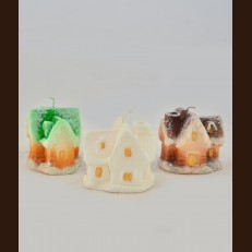 Paraffin candles Fairy house KB