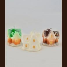 Свічка парафінова Казковий будиночок  KB