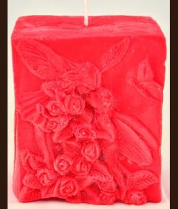 Свеча прямоугольная Поцелуй (7.5Х4.5Х9 см)