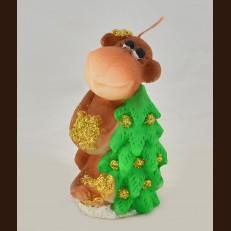 Мавпа з ялинкою Бегемот (6х11 см)