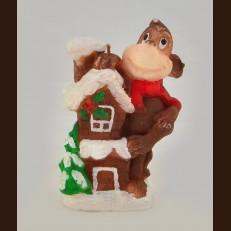 Мавпа з доміком (7х10 см)