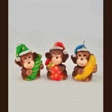 Мавпочки в колпачку (7х6х9 см)