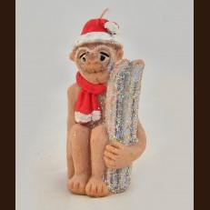 Мавпа з лижами (5х5х10,5 см)