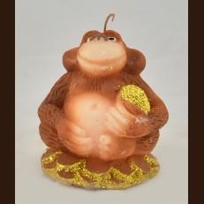 Мавпа на монетах (8х8х10 см)